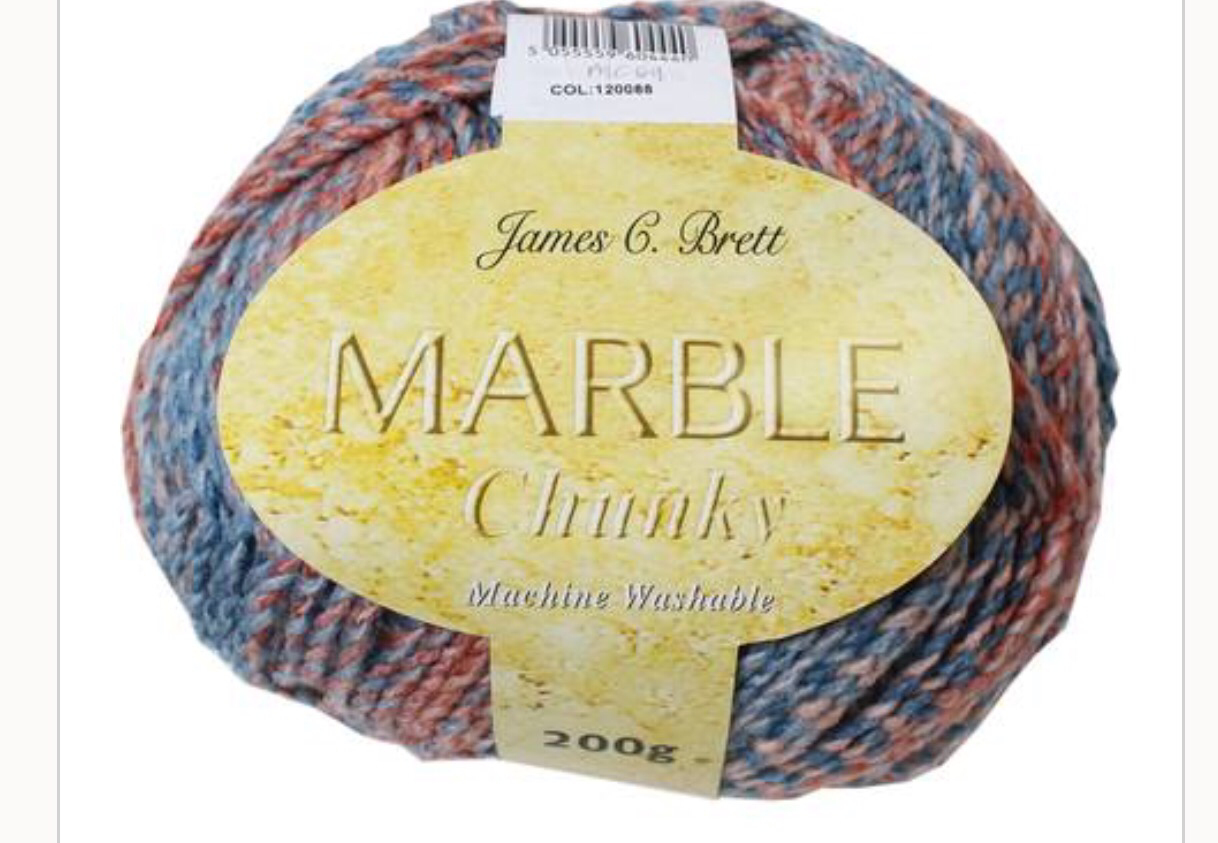 James C Brett Marble Chunky Review The Wee House Of Crochet